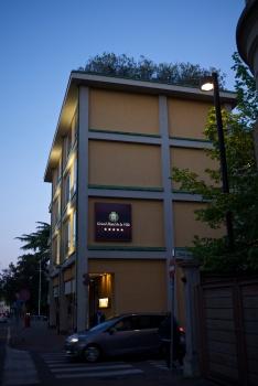 Hotellet i Parma, mycket trivsamt!