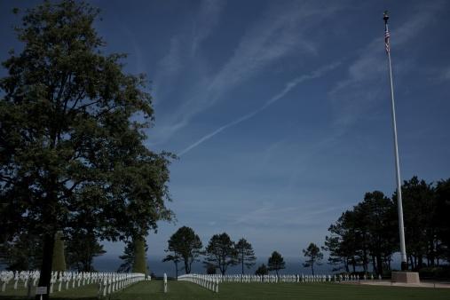 Amerikansk krigskyrkogård