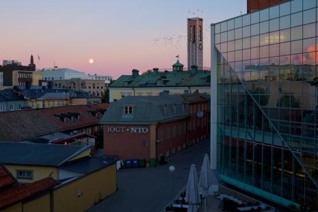 Utsikt från vårt hotell