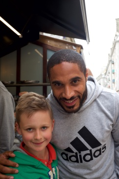 Saint Malo, möte med Wales Ashley Williams!