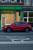 Liège - fin Alfa Romeo Stelvio
