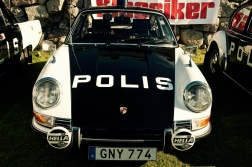 Porsche som polisbil!