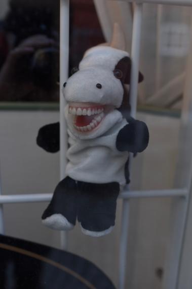 Maskot för tandläkarmottagning :-)