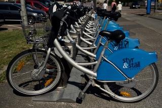 Snitsigt namn på lånecyklarna, det är ju ändå Göteborg!