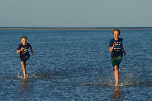 """Stranden vid """"vårt"""" hus"""