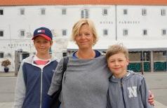 Limfjorden - här åt vi lunch