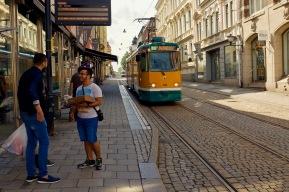 Spårvagnar - nästan som Göteborg!
