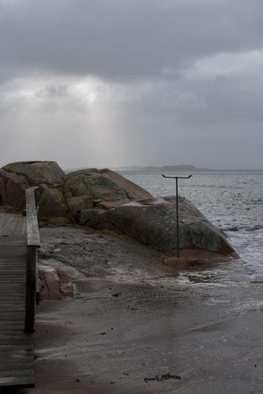 En av badplatserna
